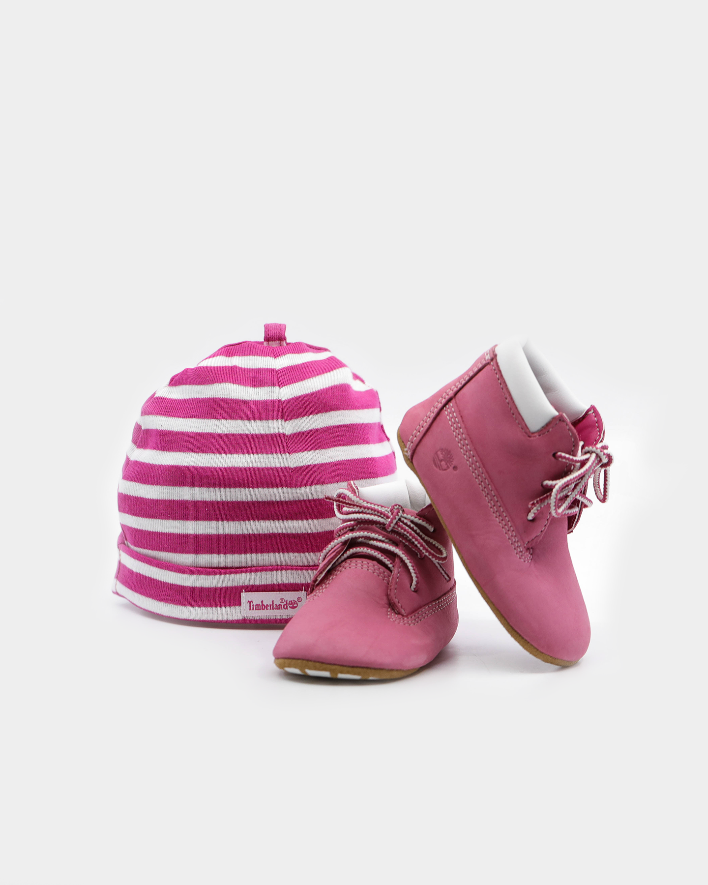 Timberland Crib Casual Booties Baby Shoes Cute Fuschia Pink Girls/' Infant