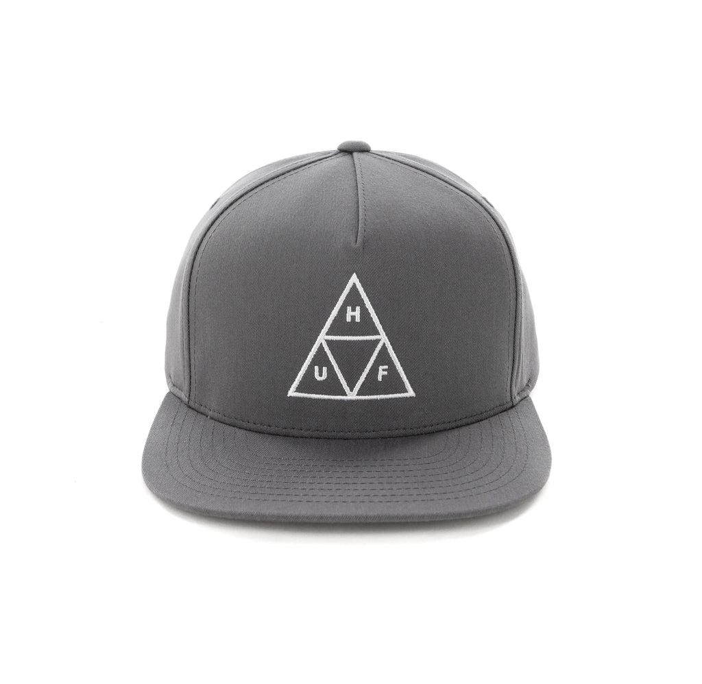 ... 50% off huf essentials triple triangle snapback hat charcoal 9214b cb3e7 17da1bc4ad88