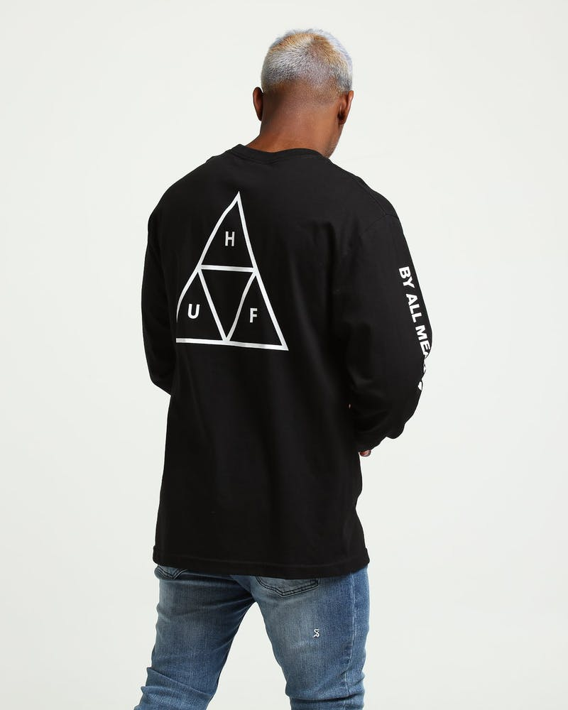 Triple Triangle Long Sleeve T-Shirt