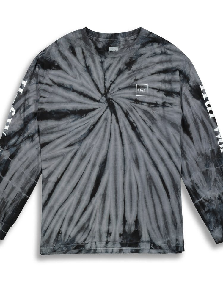9e19bbda HUF Domestic Tie Dye L/S Tee Black – Culture Kings