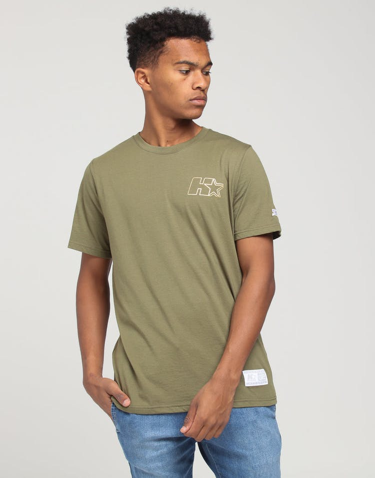 HUF X Starter Lock Up SS Tee Olive