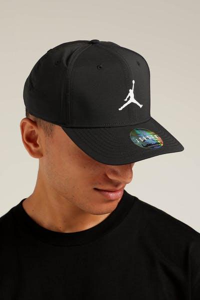 5e1b8efaad1 Jordan Nike Classic 99 Fitted Black White