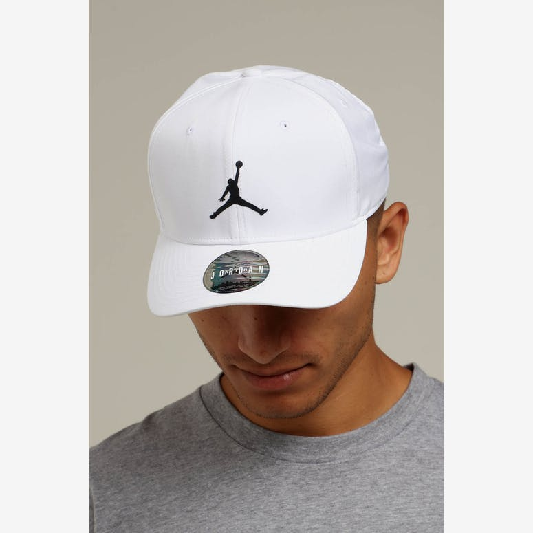 Jordan Nike Classic 99 Fitted Hat White Black – Culture Kings b5b802d0bf5