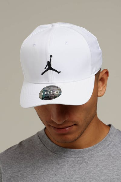 cc9d99e5e89 Jordan Nike Classic 99 Fitted Hat White Black