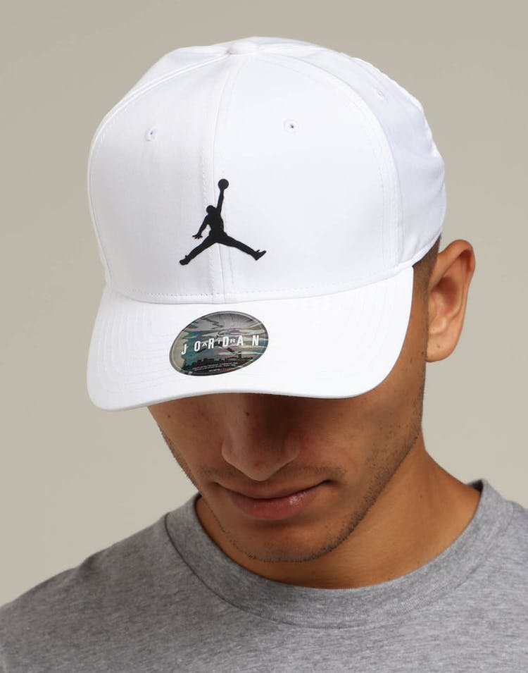 Jordan Nike Classic 99 Fitted Hat White/Black