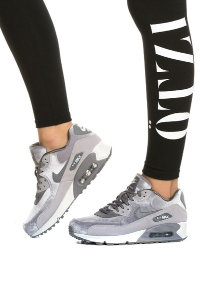 Nike Women's Air Max 90 LX Grey/Grey/White
