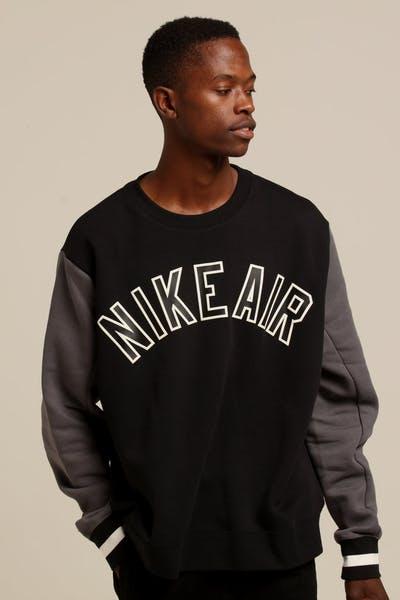 183d7273f Nike Air Crewneck Black Dark Grey