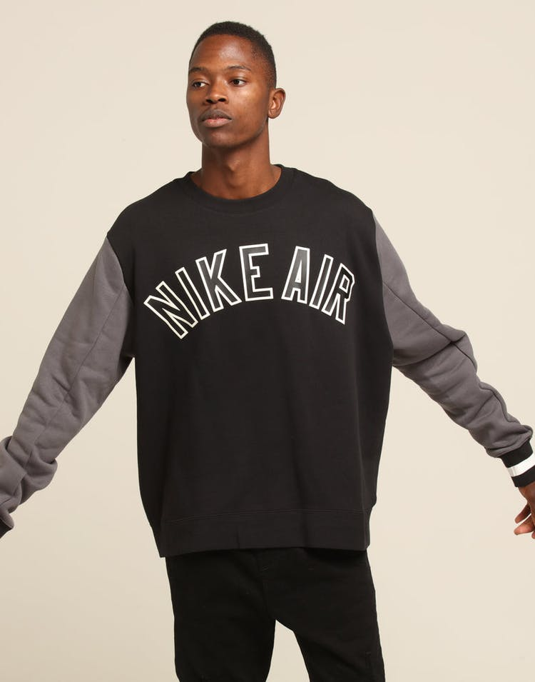 Nike Air Crewneck Black/Dark Grey