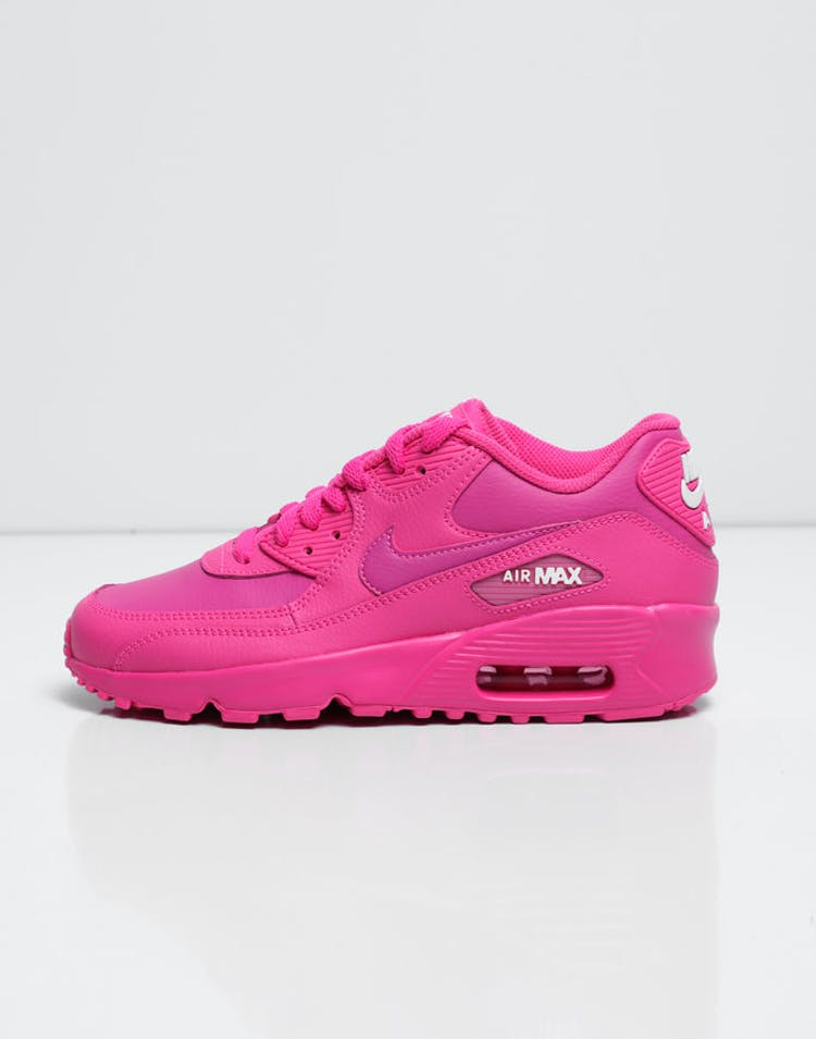 c6aa33c1e4 Nike Kids AIR MAX 90 LEATHER (GS) Fuschia – Culture Kings
