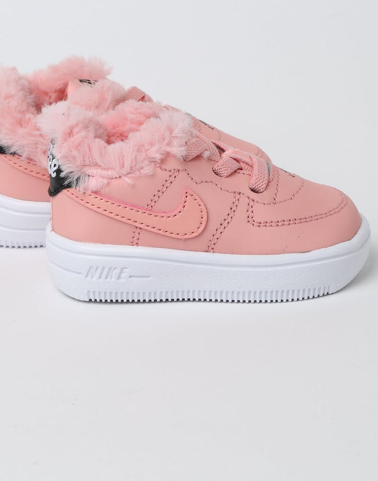 new concept d2737 5c26a Nike Toddler Nike Air Force 1 V Day Bleached Coral Black