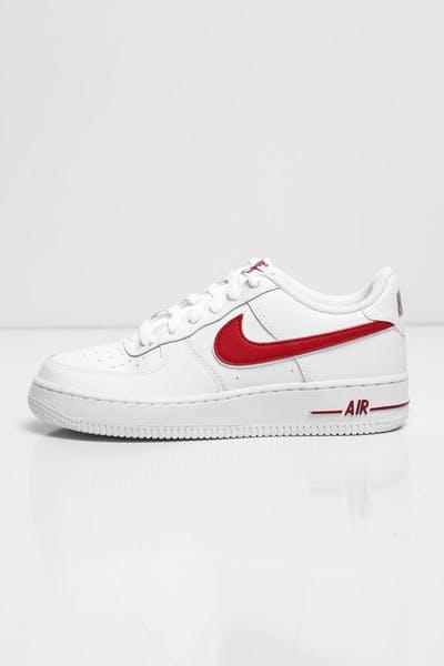 san francisco 0783d a02cb Nike Kids Air Force 1-3 (GS) White/Red