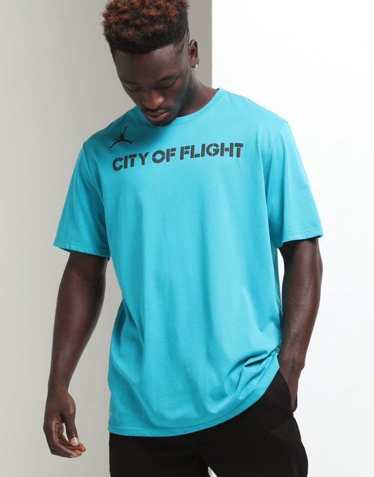 7b826fbf Nike Charlotte Hornets City Edition NBA Dri-Fit Tee Teal – Culture Kings