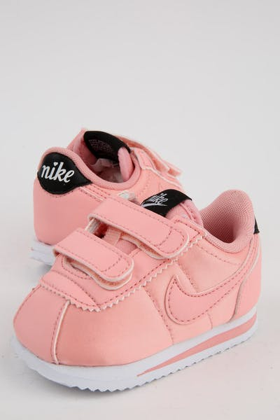 Nike Toddler Cortez Basic Txt Bleached Coral/Black