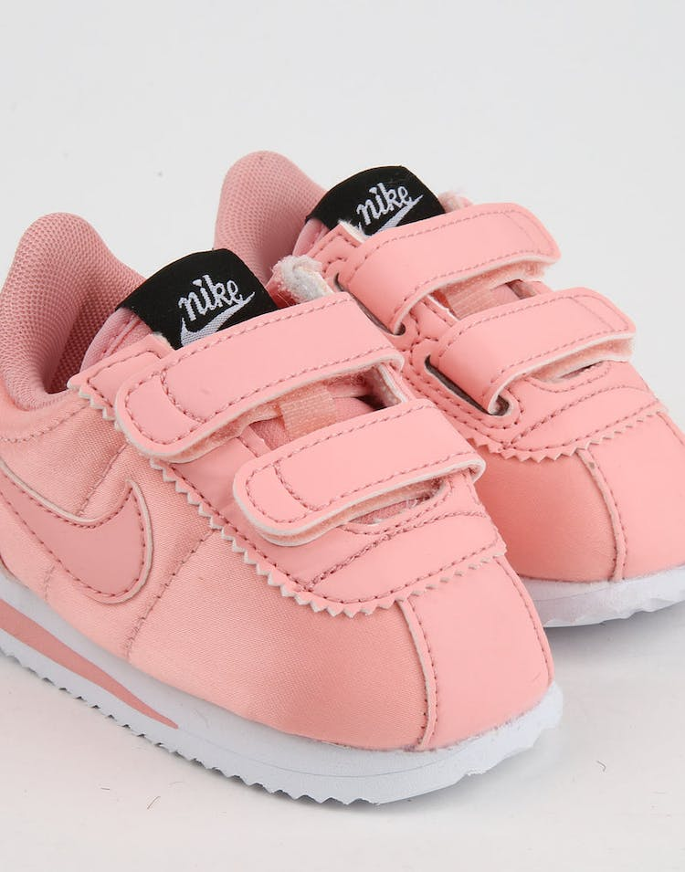 reputable site a15da 4b082 Nike Toddler Cortez Basic Txt Bleached Coral/Black – Culture Kings