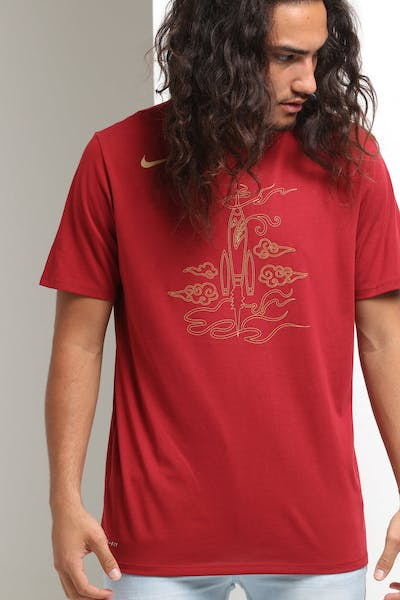 1dd93aac5 Nike Houston Rockets City Edition NBA Dri-Fit Tee Crimson