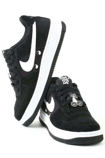 online store d2988 0b93b Nike Air Force 1 LV8 NK DAY (GS) Black White