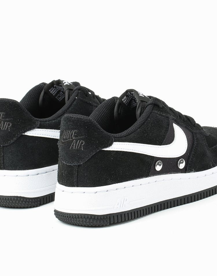 online store 7c5c6 72a51 Nike Air Force 1 LV8 NK DAY (GS) Black White