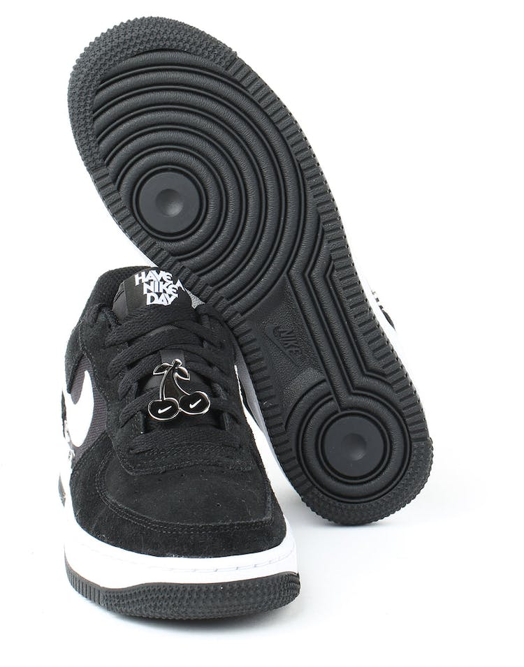 online store 1a570 74bef Nike Air Force 1 LV8 NK DAY (GS) Black White