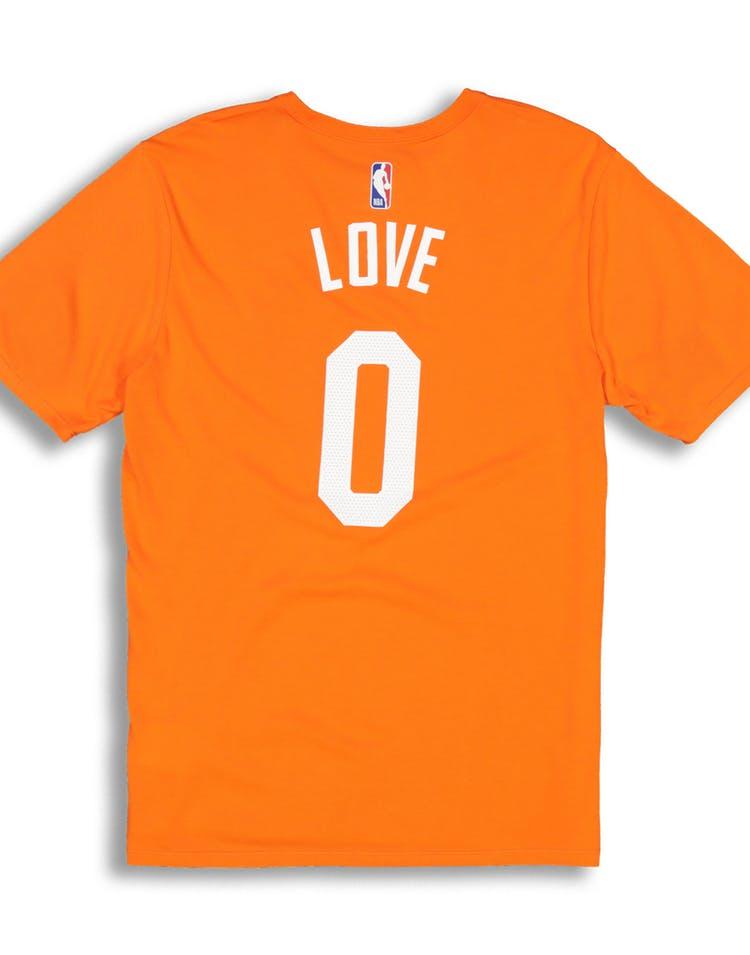 baf6c47b20a9 Nike Cleveland Cavaliers Kevin Love  0 City Edition NBA Dri-Fit Tee Orange