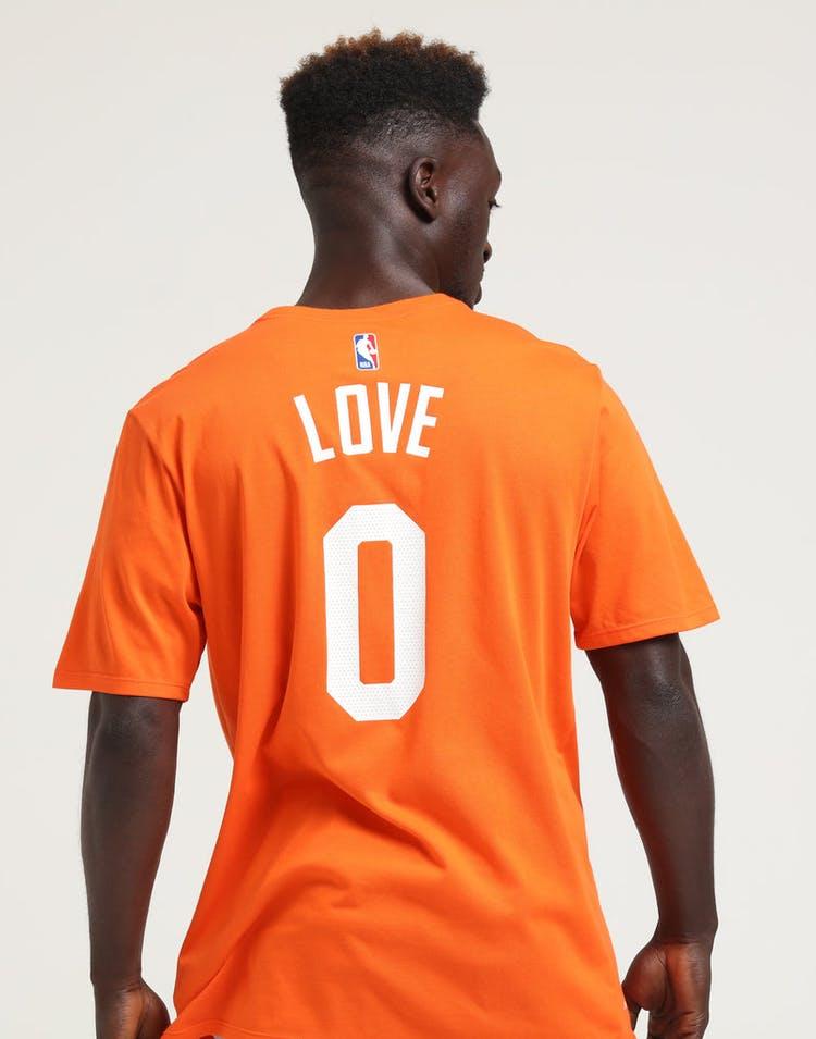 04b6e4ec0d65 Nike Cleveland Cavaliers Kevin Love  0 City Edition NBA Dri-Fit Tee Orange