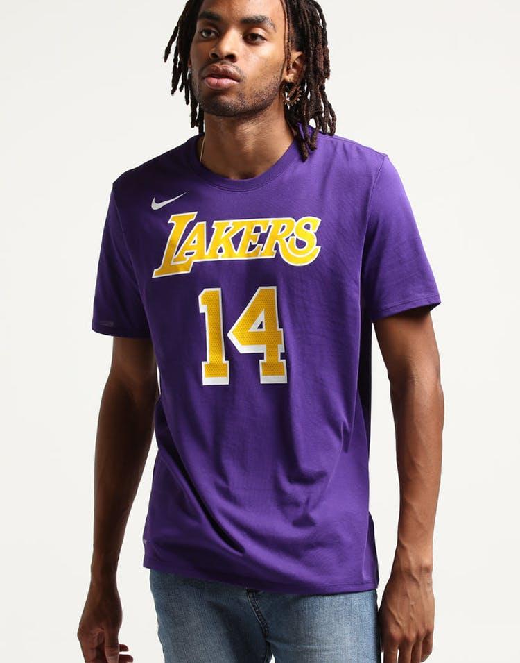 1191d400f Nike Los Angeles Lakers Brandon Ingram  14 NBA Dri-Fit Tee Purple – Culture  Kings