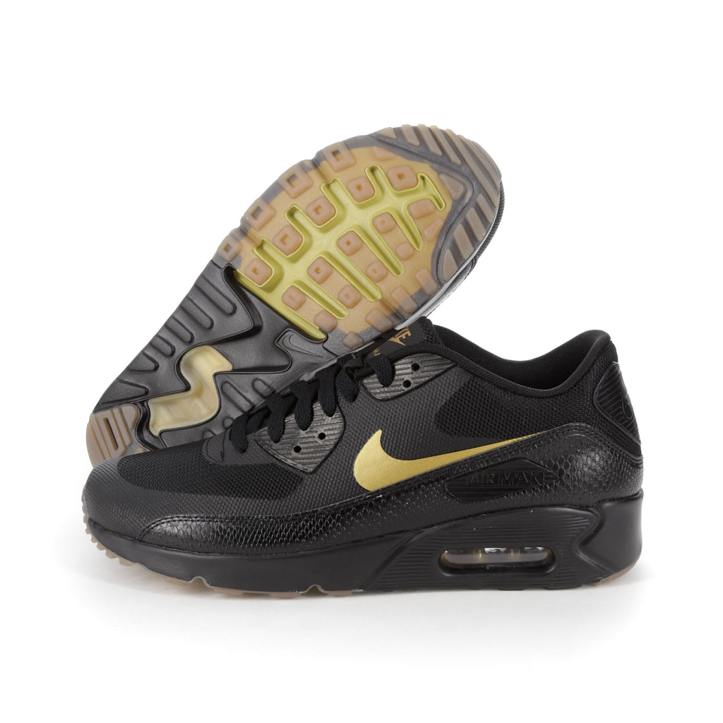 nike air max 90 mens black and gold