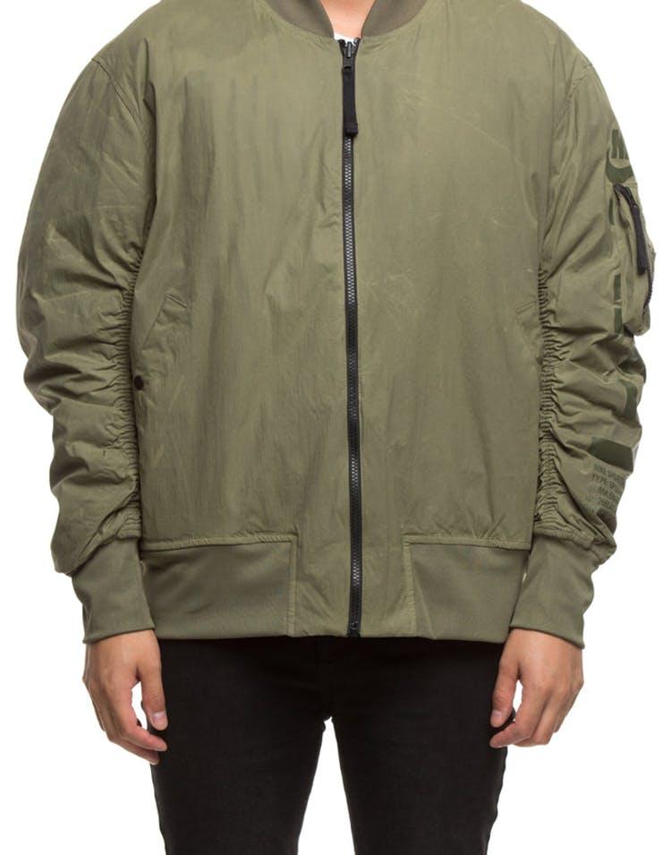 353b498d6c96 Nike Men s Reversible Jacket Olive Orange – Culture Kings