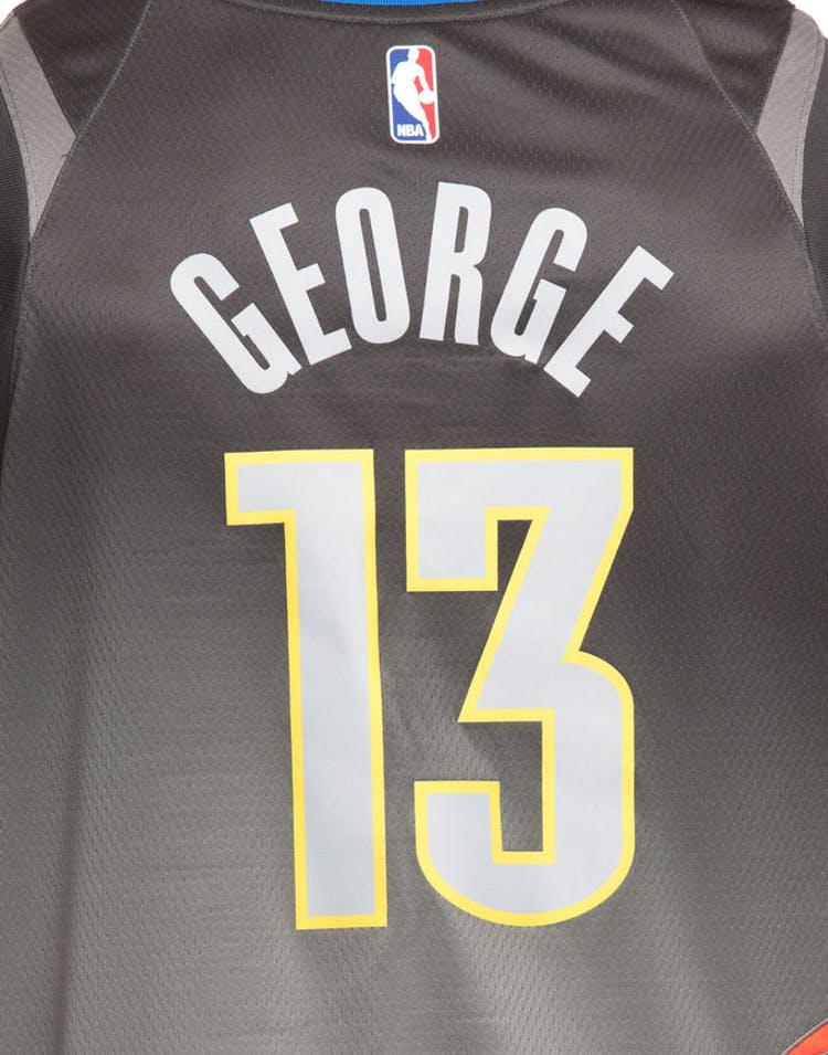 c697f928051f Nike Oklahoma City Thunder  13 Paul George City Edition Swingman Jersey  Dark Grey