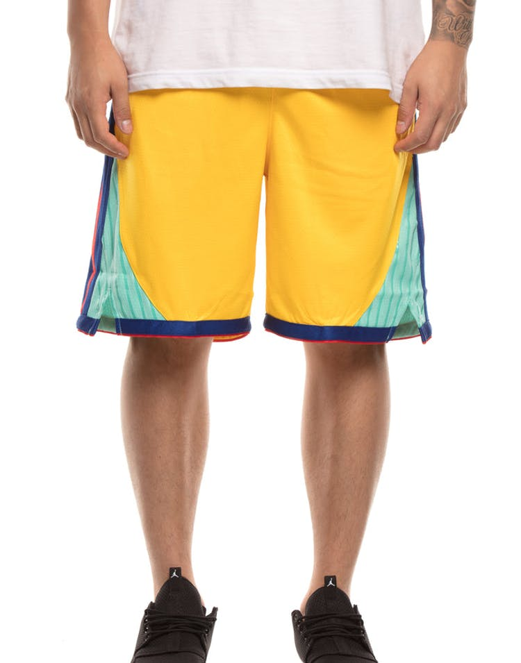 super quality new arrivals running shoes Golden State Warriors Nike NBA City Edition Swingman Shorts ...