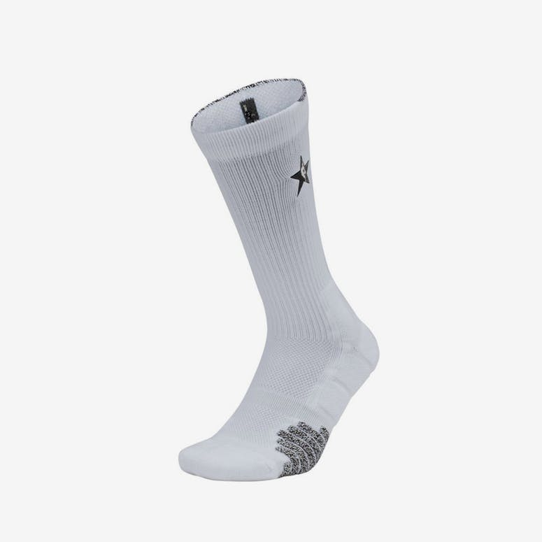 d27a3dc705a Nike NBA All Star Elite Quick Crew Sock White Grey Black – Culture Kings