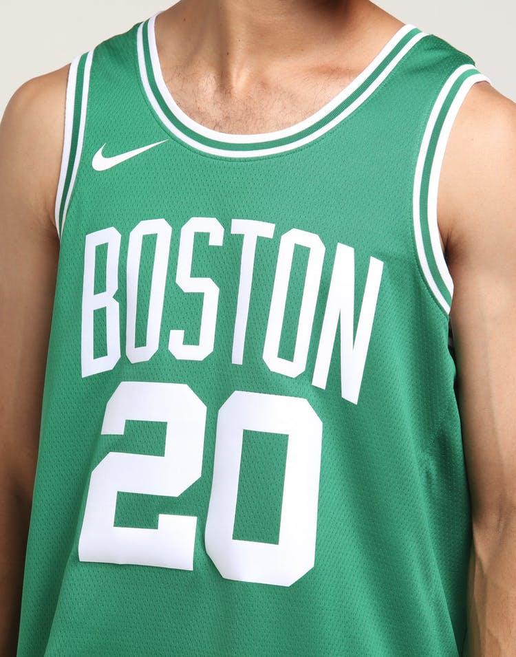 purchase cheap 662c7 cd39f Nike Boston Celtics Gordon Hayward #20 Icon Edition NBA Jersey Clover