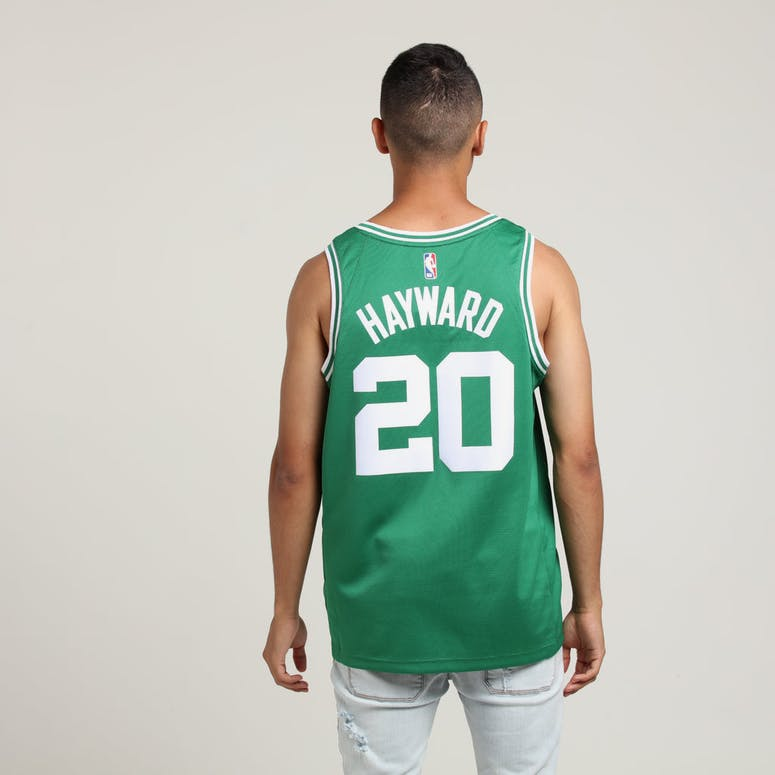 Nike Boston Celtics Gordon Hayward #20 Icon Edition NBA Jersey Clover