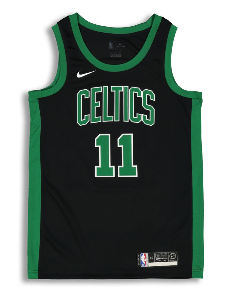 low priced a6890 9d44a Nike Kyrie Irving Statement Edition Swingman Jersey Boston Celtics  Black/Green