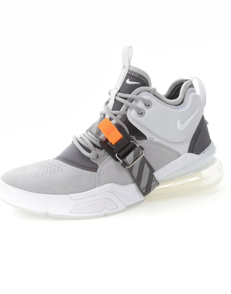 online retailer 3d8d7 02853 Nike Air Force 270 Grey/White
