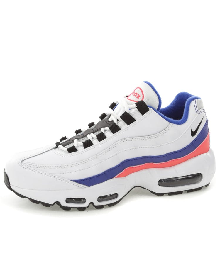 22817464e850 Nike Air Max 95 Essential White Blue Pink