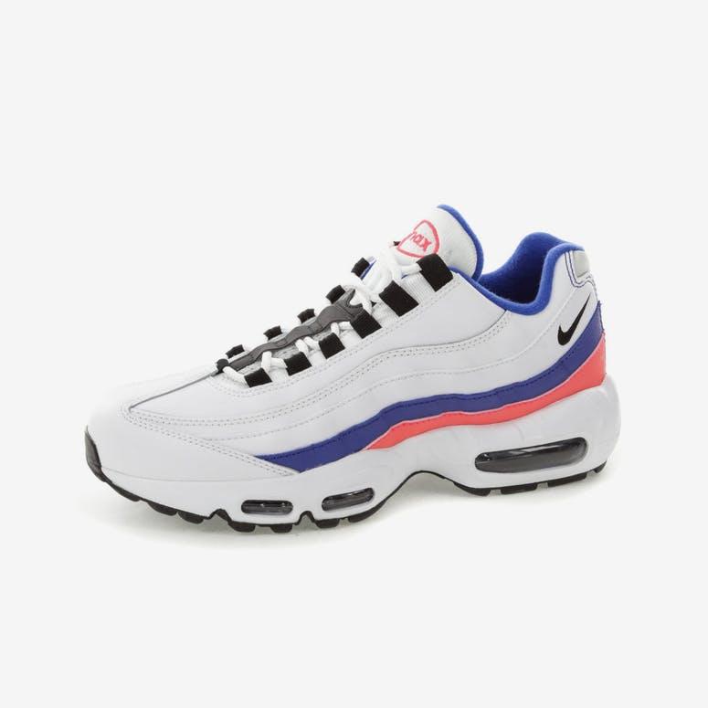 Nike Air Max 95 Essential White Blue Pink  d47ac6b1e