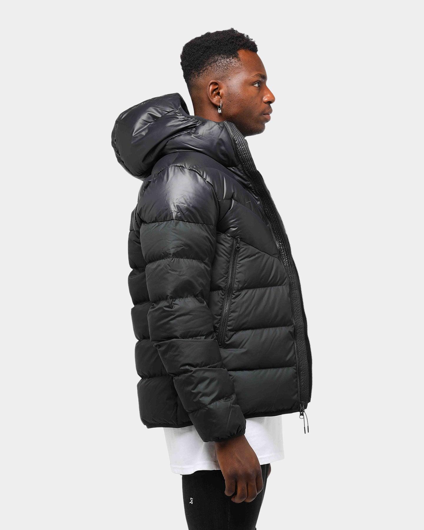 Nike Men's Sportswear WindRunner Parka Down Black Jacket