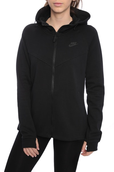 Nike Women's Tech Fleece Hoodie Black/Black