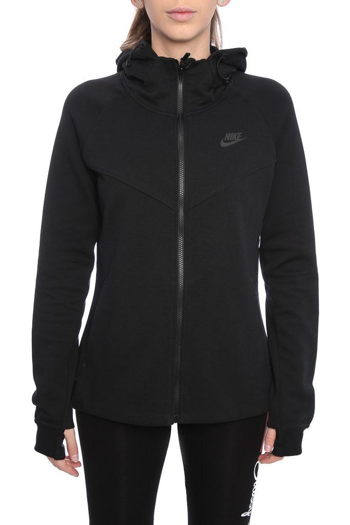 Women Nike Tech Fleece Black/Black