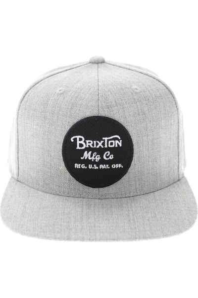 Brixton Wheeler Snapback Heather Grey