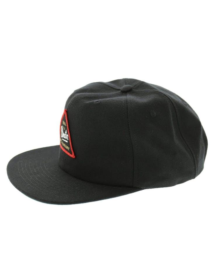 new concept c1ff4 8aaf6 Brixton Cue Snapback Black