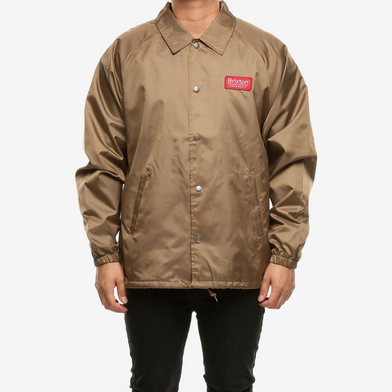 Brixton Palmer Jacket Khaki – Culture Kings 78a97caba8c