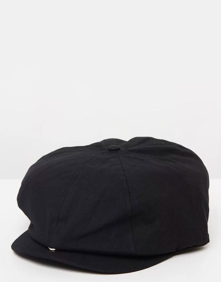 Brixton Brood Adjustable Snap Cap Black