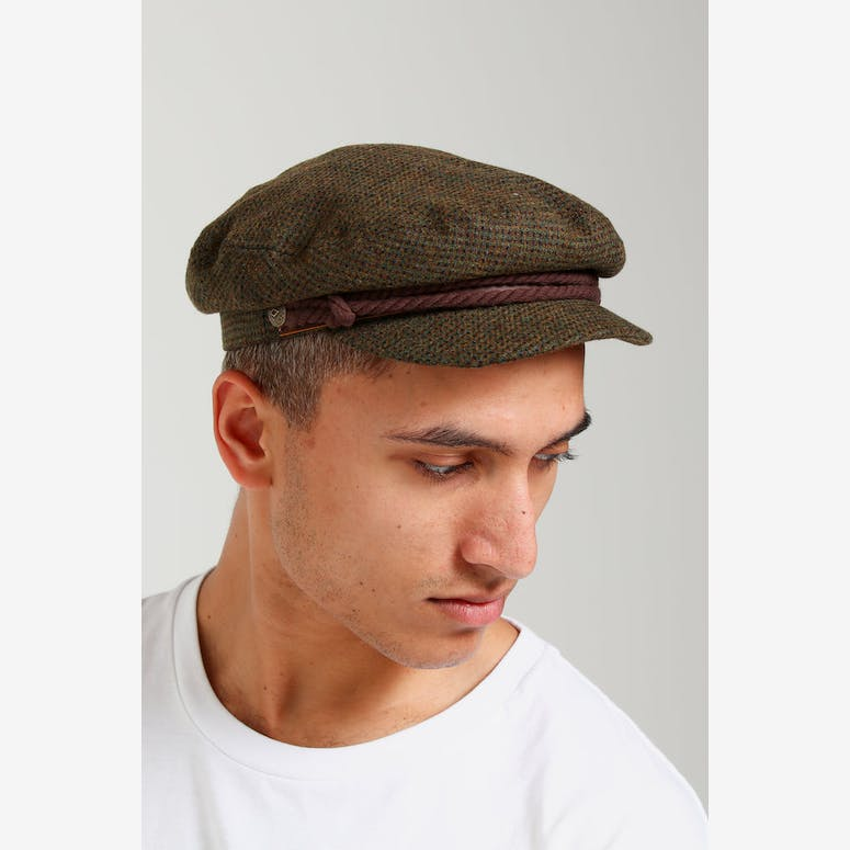 Brixton Fiddler Cap Moss Brown – Culture Kings ca9f67b7b4f