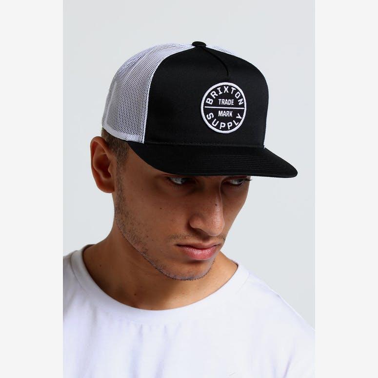 Brixton Oath III Mesh Cap Black – Culture Kings 34d995365b3