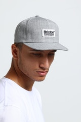 BRIXTON PALMER MP SNAPBACK HEATHER GREY