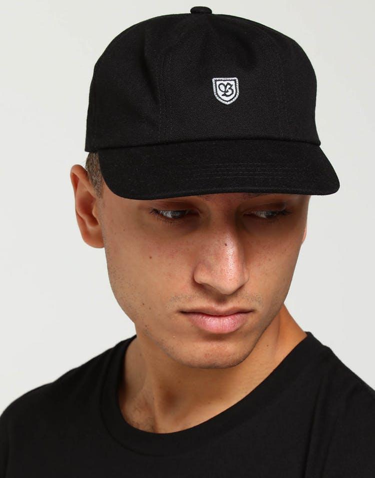 24b6a00e65a47 Brixton B-Shield III Cap Black Grey – Culture Kings