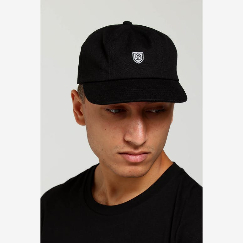 Brixton B-Shield III Cap Black Grey – Culture Kings e2028c69abf9