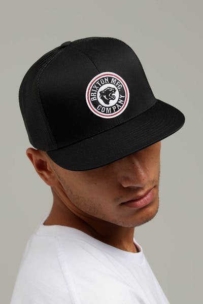 Brixton Forte MP Mesh Cap Black