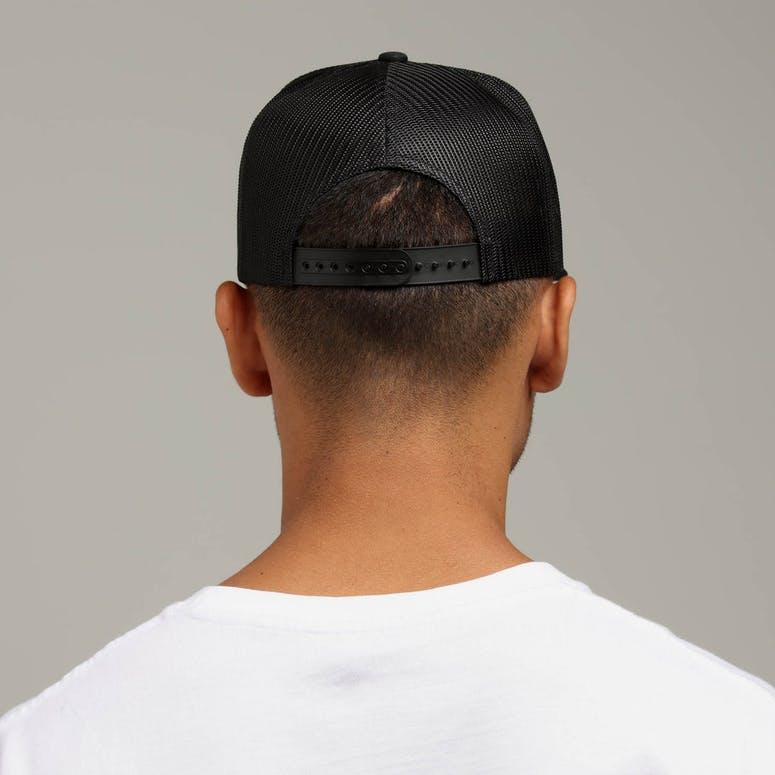 Brixton Forte MP Mesh Cap Black – Culture Kings 01a67a9b47ab